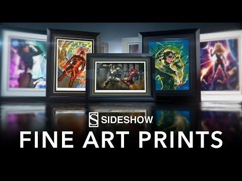Discover Sideshow's Fine Art Prints
