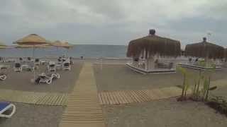 #ParavionLIVE. Plaja la Hotel Fantasia Deluxe, Kemer