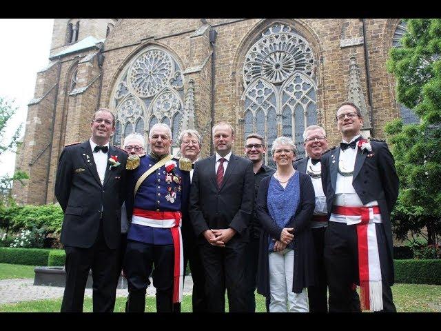 Das Mindener Bürgerbataillon spendet für das St. Michaelshaus am Dom
