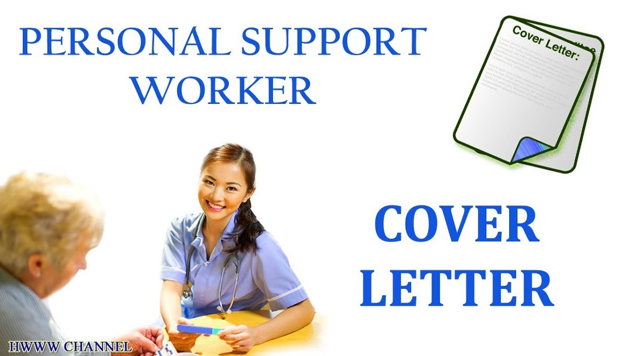 personal support worker cover letter sample  no experience