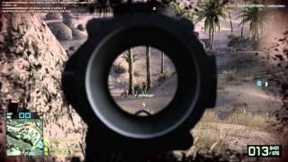 Battlefield Bad Company 2 PC Oasis Rush Defender Gameplay