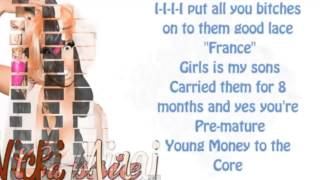 Nicki Minaj ft. Cassie - The Boys (Lyrics)
