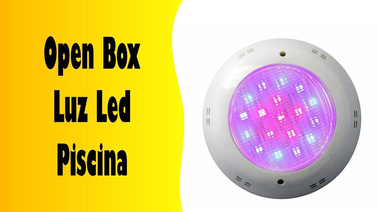 Video como instalar luces con control remoto led para for Luces led para piscinas