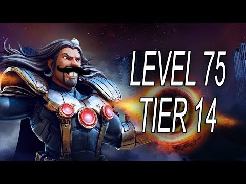 Level 75 Tier 14 Incoming Next Patch - MARVEL Strike Force - MSF