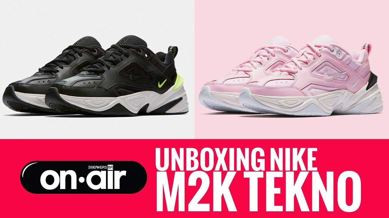 huge discount a77e6 09a56 71 - Unboxing Nike M2K Tekno  piranomeuair