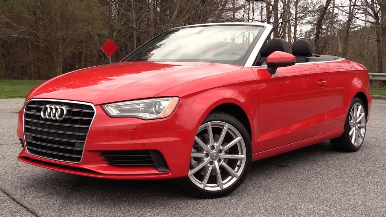 2016 Audi A3 2 0t Quattro Cabriolet Start Up Road Test In Depth Review
