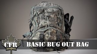 Basic Bug Out Bag - Guardian Survival