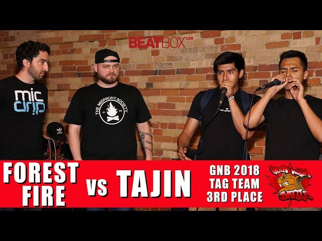 Forest Fire vs Tajin | GNB 2018 | Tag Team - 3rd Place