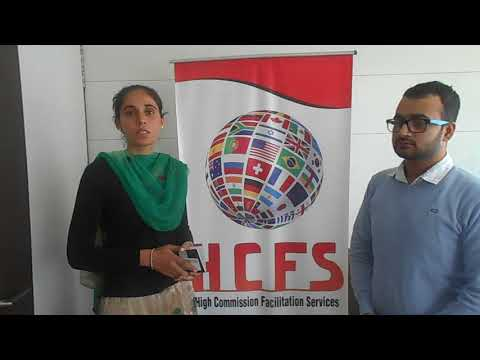 HCFS Chandigarh | Barinder Kaur | Canada Student Visa Testimonial | Best Immigration Consultant