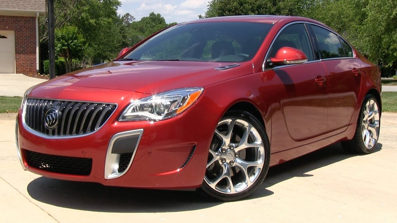 2015 Buick Regal Gs Awd Opel Insignia Start Up Road