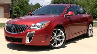 2015 Buick Regal GS AWD (Opel Insignia) Start Up, Road Test, and In Depth Review