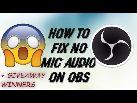 How To Fix OBS No Mic Audio
