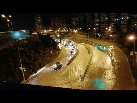 Inundaciones en Alicante 13 de marzo de 2017