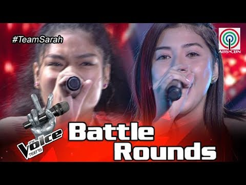 The Voice Teens Philippines Battle Round: Alessandra vs. Ashley - Don't You Worry 'Bout A Thing