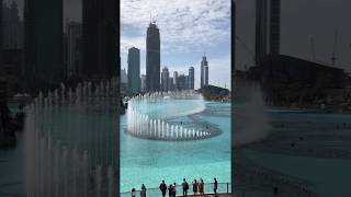 Дубай, музыкальный фонтан