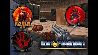 Ion Maiden preview gameplay (PC) - When Blood meets Shadow Warrior and Duke Nukem 3D