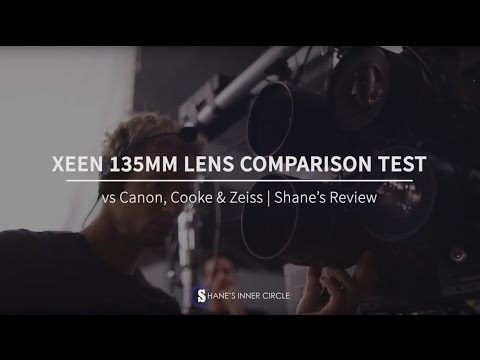 Xeen 135MM Lens Comparison Test vs Canon, Cooke & Zeiss | Shane's Review
