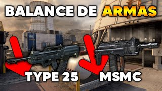 PRÓXIMO BALANCE DE ARMAS !! COD MOBILE CALL OF DUTY MOVIL