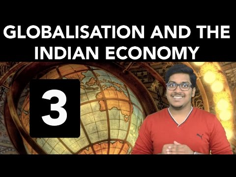 Economics: Globalisation and the Indian Economy (Part 3)