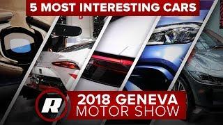 Top 5 most interesting cars at the 2018 Geneva Motor Show