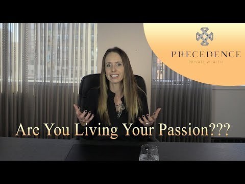 Do you have a job or are you working on your passion???