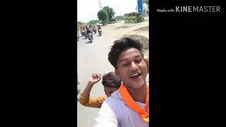 Dharnidhar वाहन रैली song dhakad dhakad kai kar