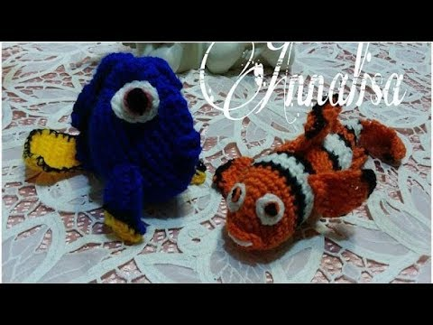 Crochet PATTERN No 1624- blue fish pattern by Krawka | Poisson ... | 360x480