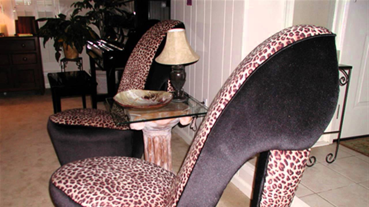 HOW TO  Build a High Heel Chair  YouTube