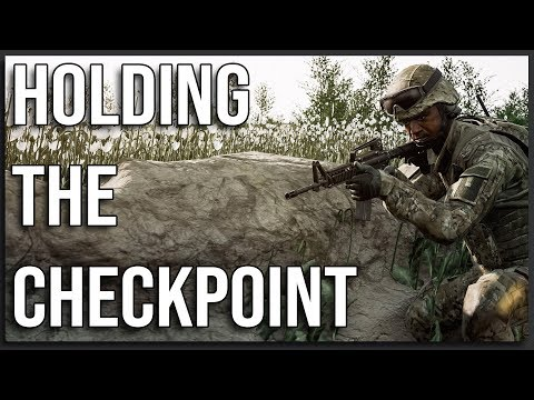 HOLDING THE CHECKPOINT - Squad Gameplay (1-Life Event)