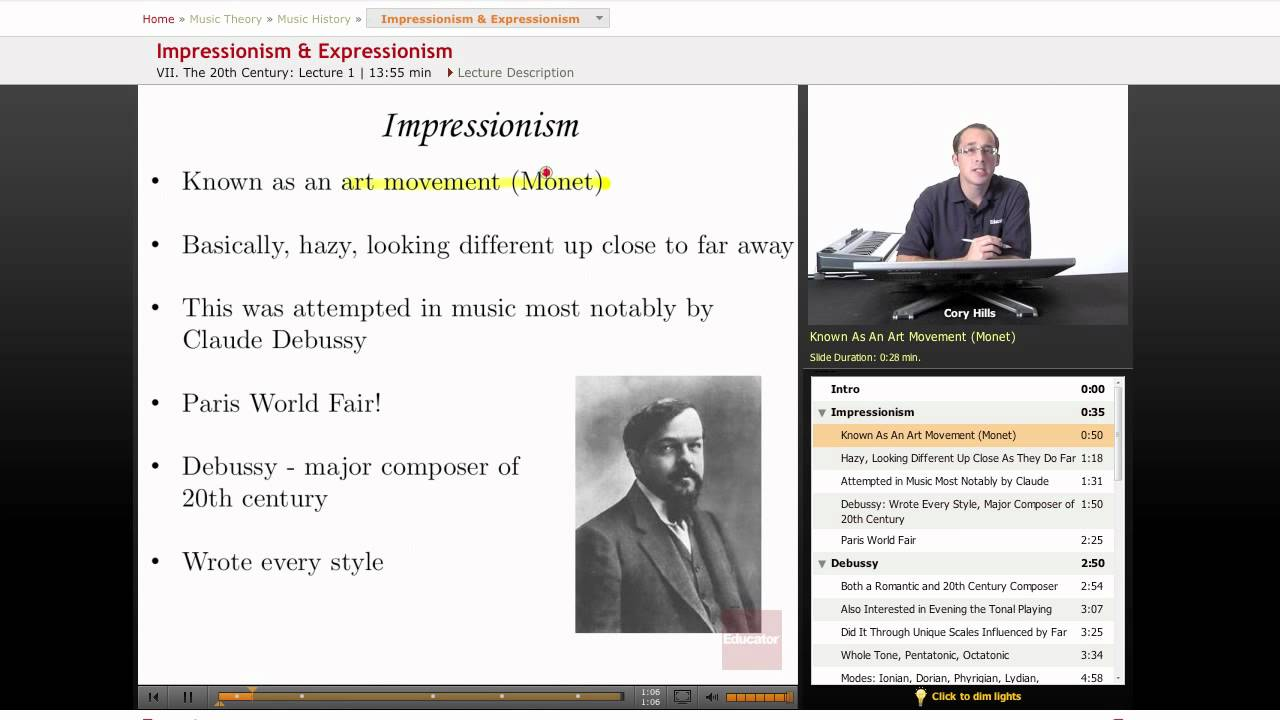 a report on the impressionistic period [pdf] - piano solo  report problem suggestion sheet  renaissance, baroque, classical period, romantic period, impressionistic and 20th century 400 pages 9x12.