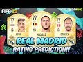 FIFA 20 | REAL MADRID PLAYERS RATING PREDICTION!! | FT. HAZARD, POGBA, JOVIC...