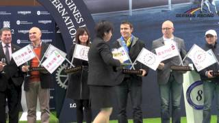Barrier Draw Hong Kong Cup - LONGINES Hong Kong International Races 2012