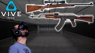SNIPER Y AK!!! (HTC Vive)   HOT DOGS, HORSESHOES & HAND GRENADES Gameplay Español