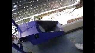 concrete curbing machine harbor freight
