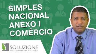 Anexo I  de  Comércio do Simples Nacional |  Alíquotas Simples Nacional