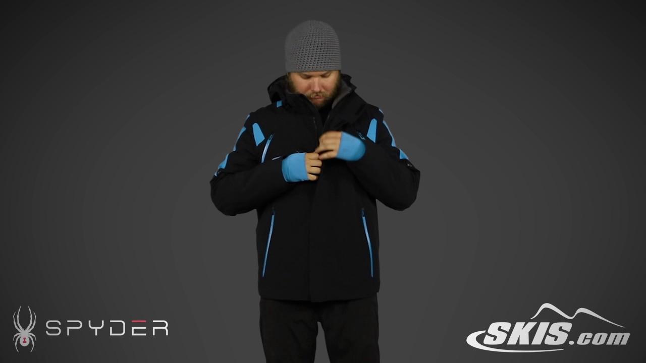 2017 Skisdotcom Jacket Overview Spyder By Mens Youtube Garmisch SqBSR