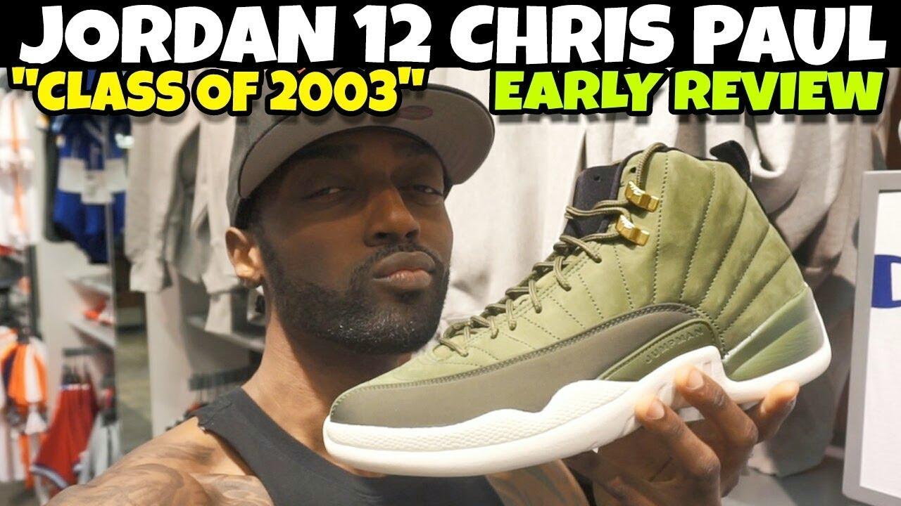 a0615922be1 Jordan 12 CP3 Chris Paul