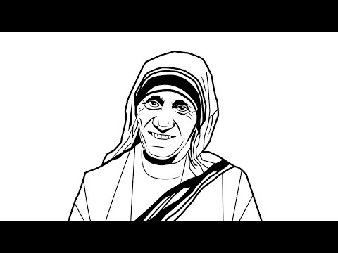 how-to-draw-mother-teresa-drawing