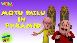 Motu patlu in Pyramid - Motu Patlu in Hindi - 3D Animation Cartoon for Kids -As seen on Nickelodeon