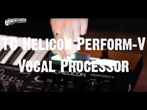 TC Helicon Perform-V Vocal Processor
