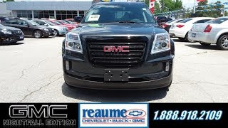 ReaumeChev NEW 2017 GMC Terrain SLE-2 FWD 'Nightfall Edition'  17-0332