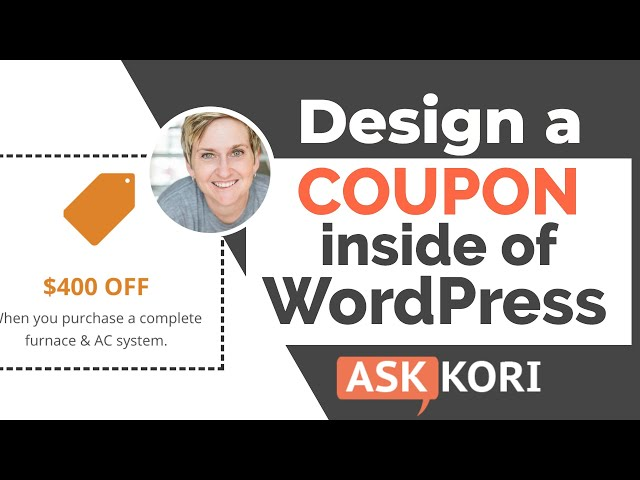 Make Coupons on Your WordPress Website
