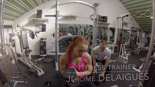 Physical Training : Charline Van Snick Belgium Judo Team -48 (1/3)