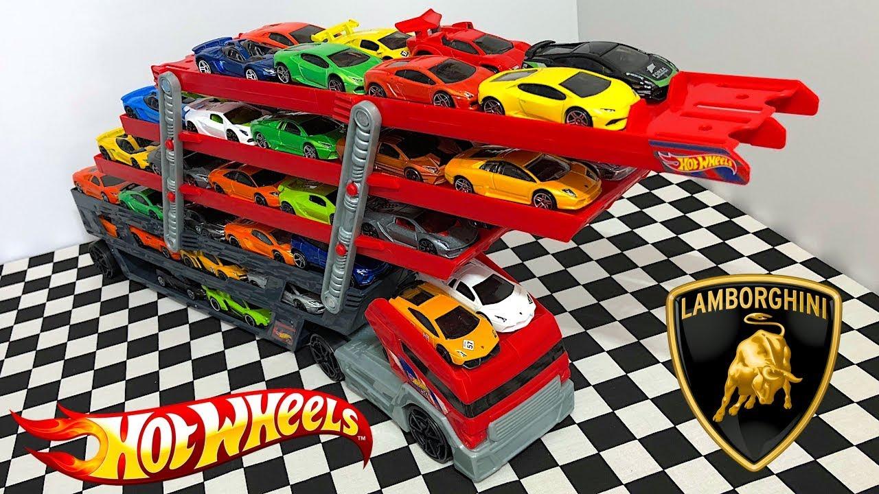 Hot Wheels Lamborghini Mega Hauler Youtube