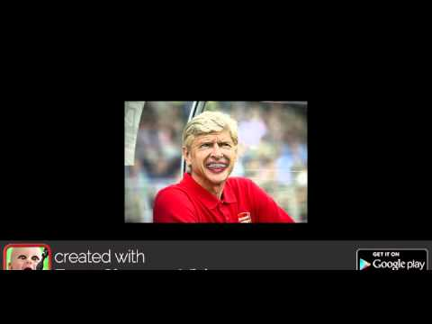 Arsene Wenger in an unguarded moment.