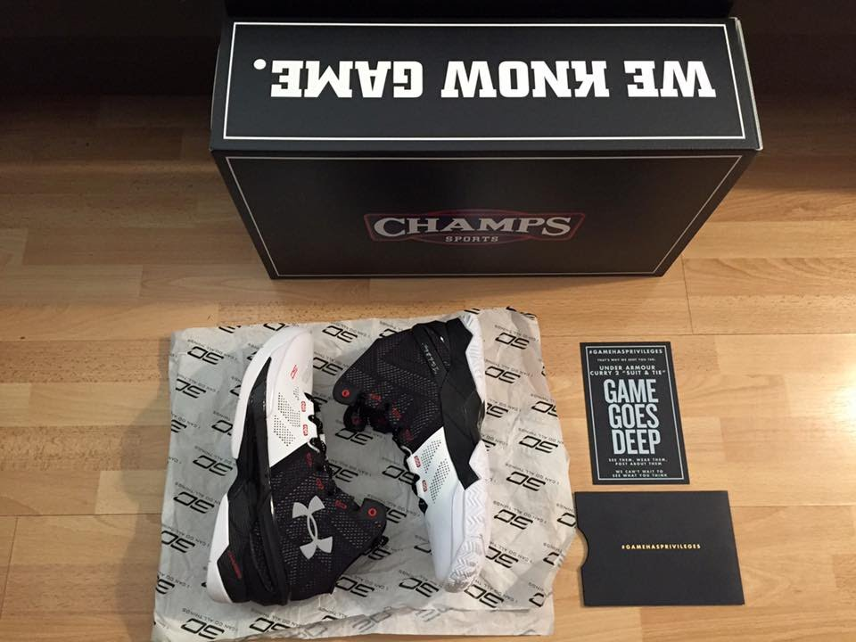 hot sales e7826 033bc Under Armour Curry Two