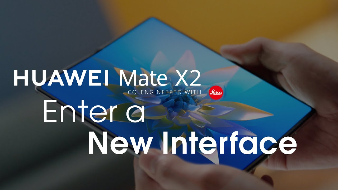 HUAWEI Mate X2 - Enter a New Interface