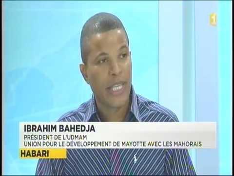 Interview Ibrahim Bahedja Mayotte 1ère (Shimaoré)