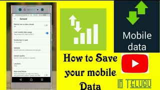 How to Save your mobile Data || By Monik
