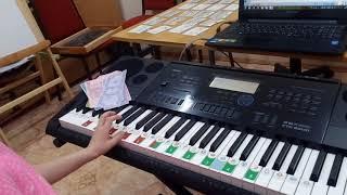 Soft Mozart в Чайковском, Оля, 6 лет 1-ый год обучения 6-й месяц